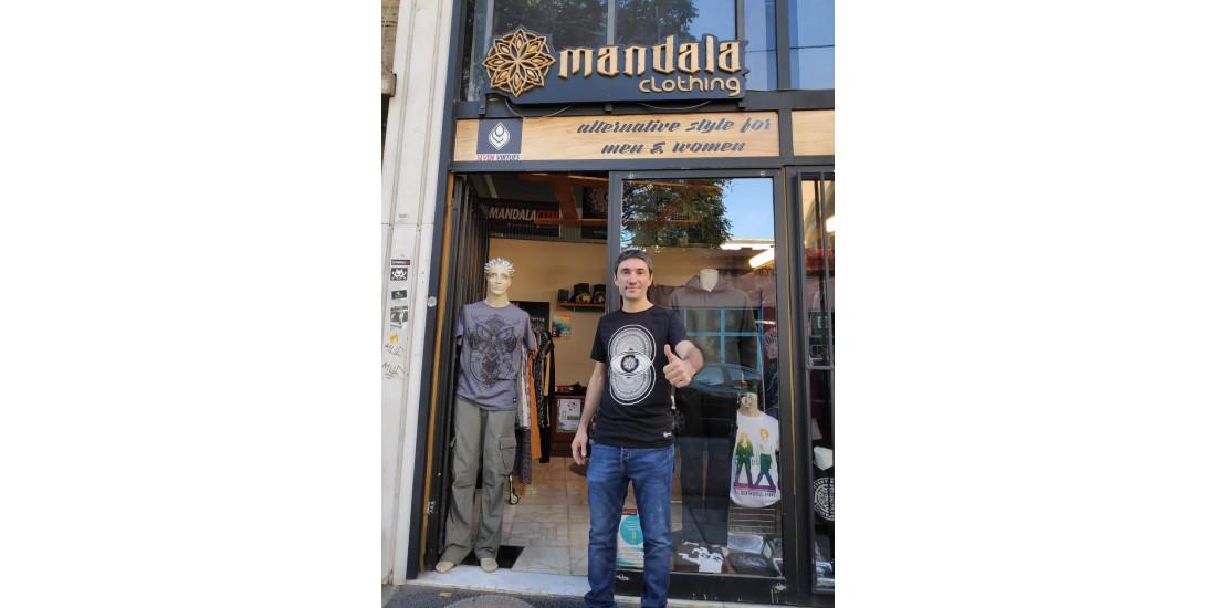 Tromo   Sonic Loom wearing Mandala Clothing