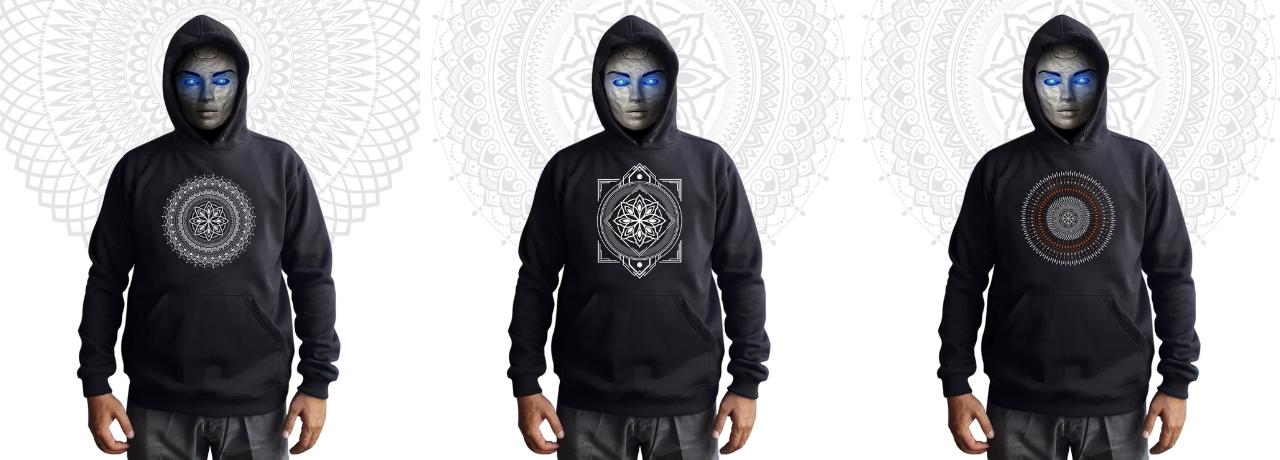 Mandala Clothing Φούτερ Hoodies