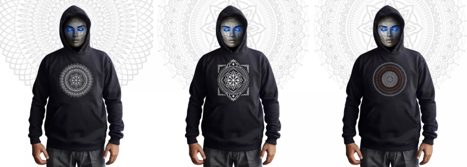 Mandala Clothing Φούτερ Hoodies