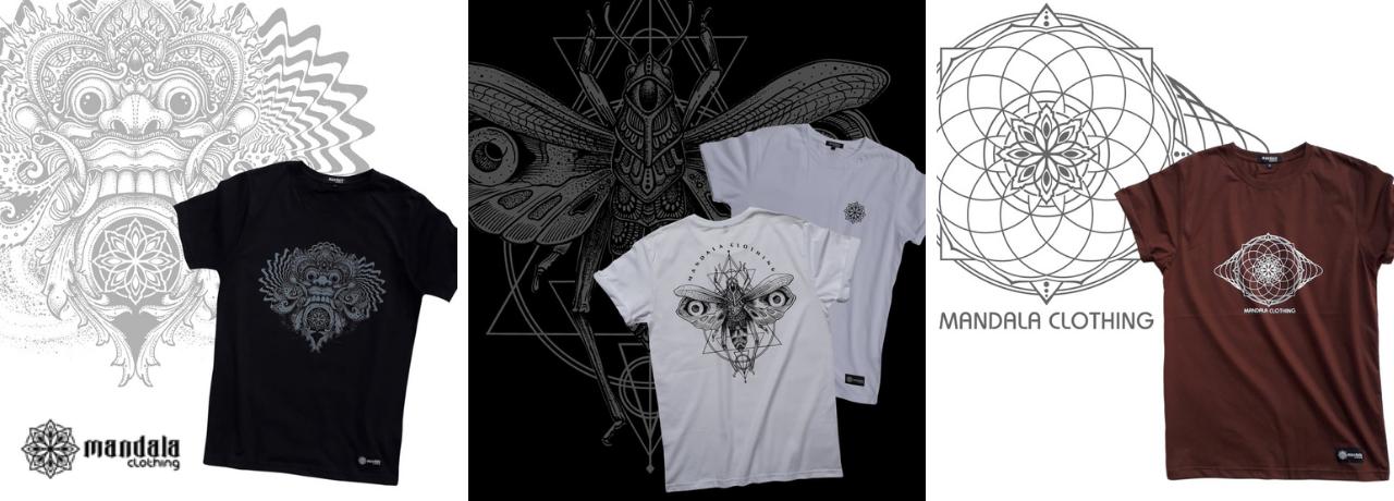 Mandala Clothing Tshirts 2021
