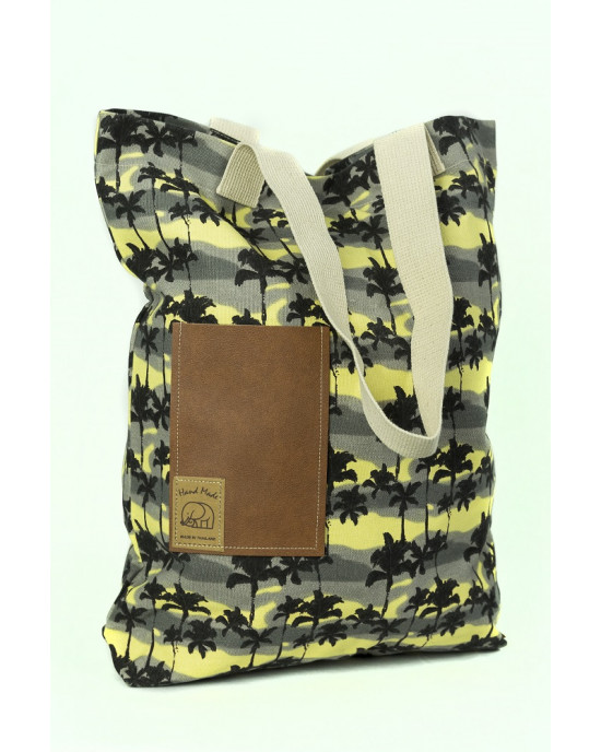 Shopping Bag Palm Trees