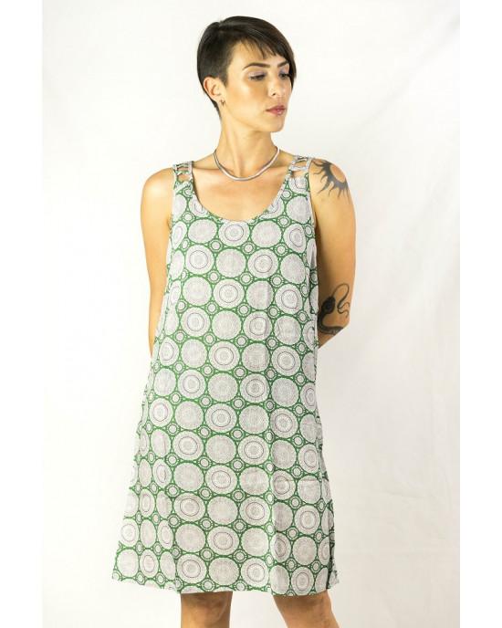 Φόρεμα Mandala Πράσινο Κ