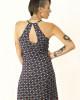 Φόρεμα Εμπριμέ Blue