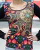 Μπλούζα Γυναικεία Εμπριμέ με Σχέδια Mandala UD03