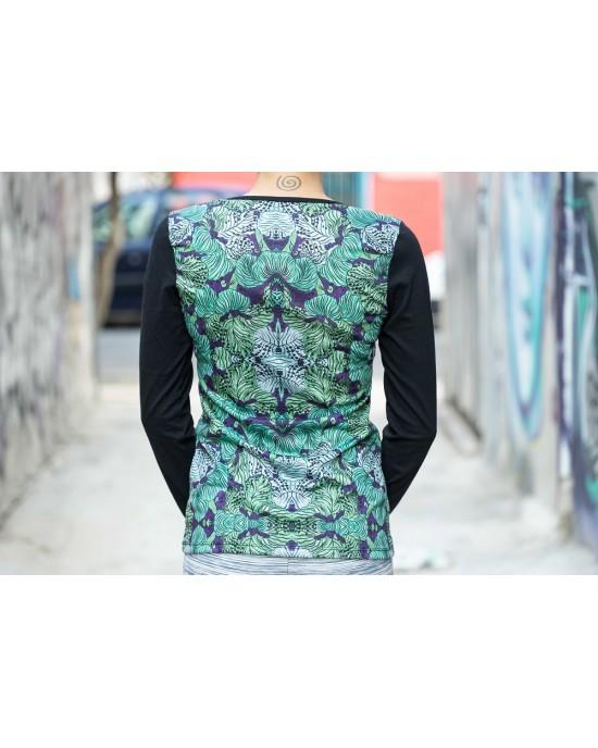 Μπλούζα Γυναικεία Floral UD05