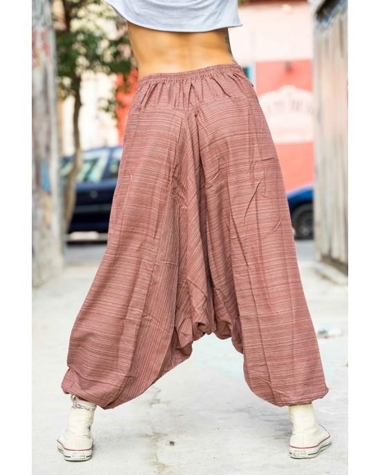 Harem Pants Aladdin Brown