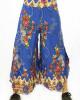 Παντελόνα Καμπάνα Floral Μπλε