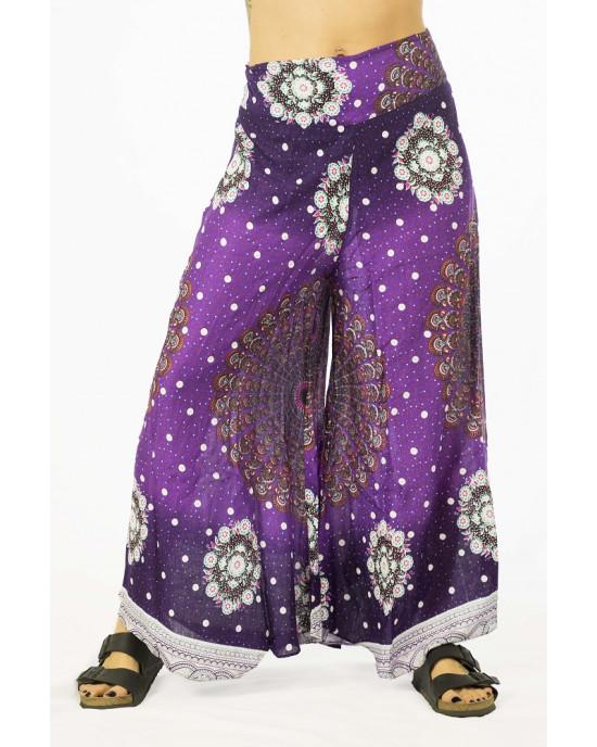 Παντελόνα Καμπάνα Mandala Μωβ