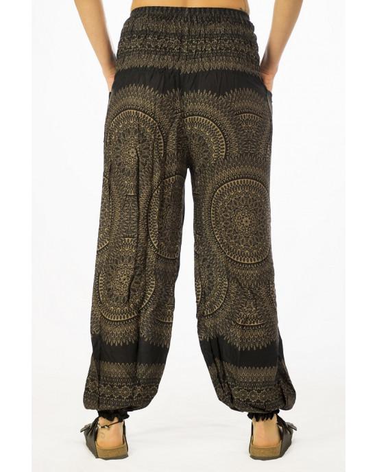 Παντελόνα Mandala Μαύρο Χρώμα