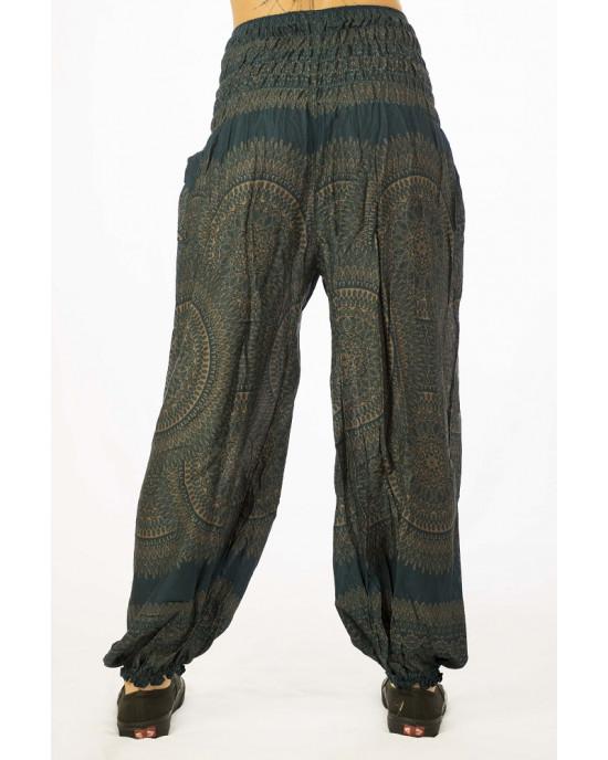 Παντελόνα Mandala Πετρόλ