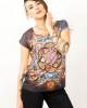 Tshirt Women Mandala