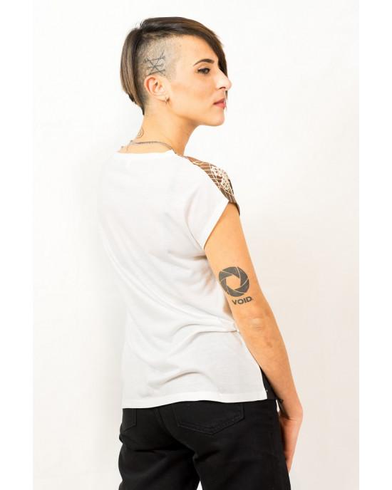Tshirt Women Mandala Space
