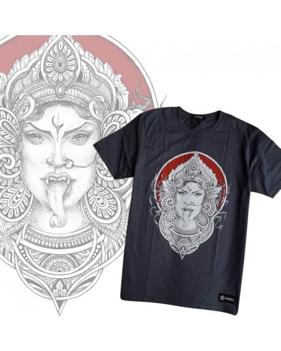 TShirt Mandala  Kali Dark Grey